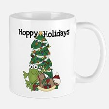 Frog Hoppy Holidays Small Mugs