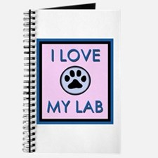 I Love My Lab Journal