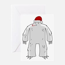 Sasquatchmas Greeting Card