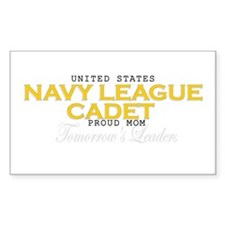 Navy League Moms Rectangle Decal