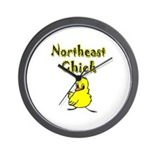 Northeast Chick Wall Clock