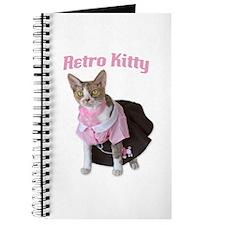 Retro Kitty Journal
