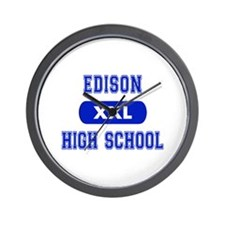 Edison High School Wall Clock