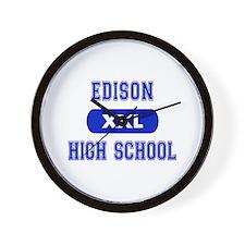 Edison High School Wall Clock