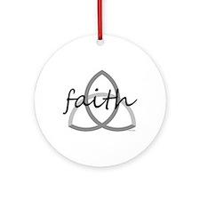 Faith Ornament (Round)