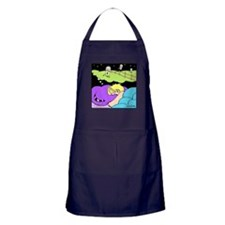 Counting Decaf Apron (dark)