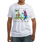 Susan and Maeve Dancing Fitted T-Shirt