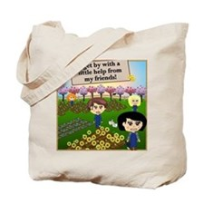 Help From Friends Tote Bag