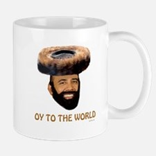 Oy To The World Funny Jewish Mug