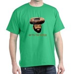 Oy To The World Funny Jewish Dark T-Shirt