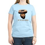 Oy To The World Funny Jewish Women's Light T-Shirt