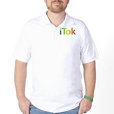 iTok logo - Rasta style T-Shirt