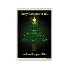 Appalachian Trail Christmas Rectangle Magnet