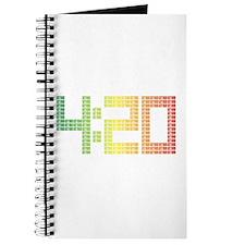 420 logo - Rasta style Journal