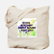 Cute Secretary day Tote Bag