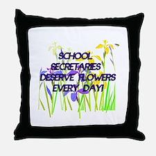 Cool School secretaries Throw Pillow