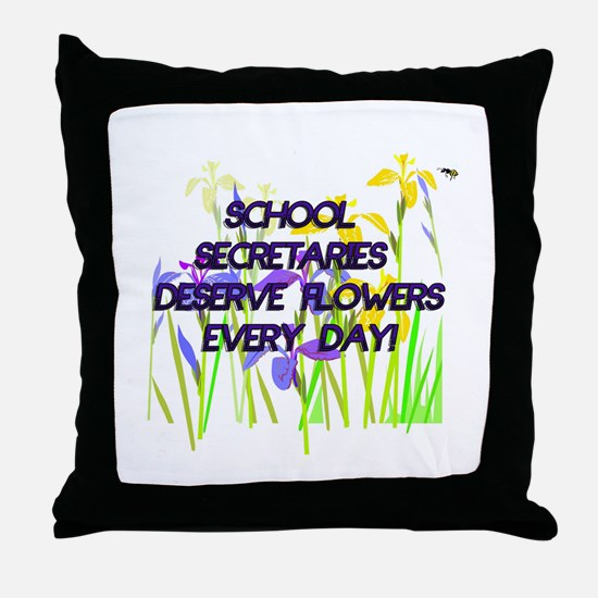 Unique Secretary Throw Pillow