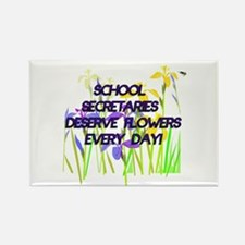 SCHOOL SECRETARIES FLOWERS copy Magnets