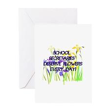 Cool School secretary day Greeting Card