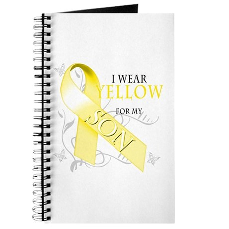I Wear Yellow for my Son Journal