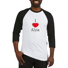 Alysa Baseball Jersey