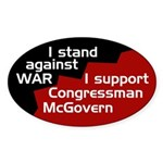 Anti-War Pro-McGovern bumper sticker