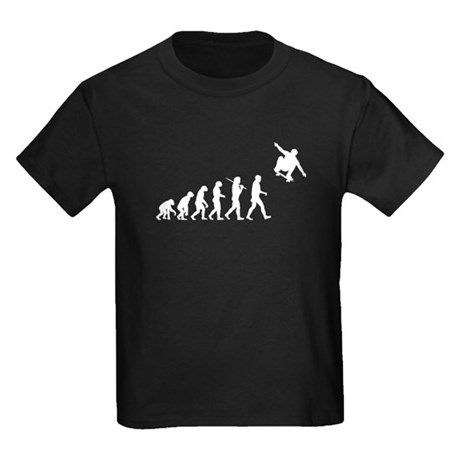 Skateboarding Kids Dark T-Shirt