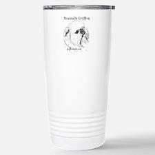 Rough Brussels Griffon Travel Mug