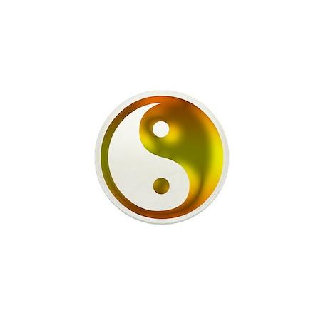 Sunshine Yin Yang Mini Button (10 pack)
