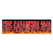 Fire John Garamendi (sticker)