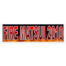 Fire Doris Matsui (sticker)