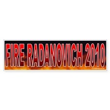 Fire George Radanovich (sticker)