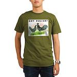 Got Polish? Organic Men's T-Shirt (dark)