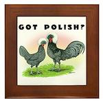Got Polish? Framed Tile