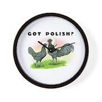 Got Polish? Wall Clock