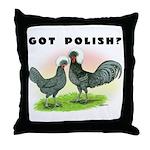 Got Polish? Throw Pillow