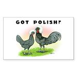 Got Polish? Rectangle Sticker 10 pk)