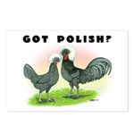 Got Polish? Postcards (Package of 8)