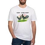 Got Polish? Fitted T-Shirt