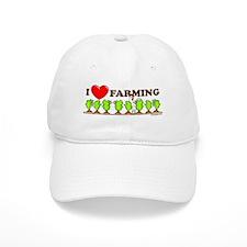 I Heart Farming Baseball Cap