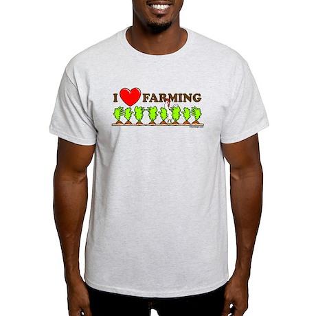 I Heart Farming Light T-Shirt