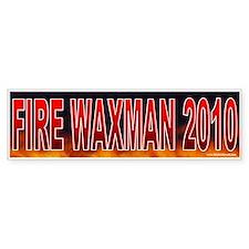 Fire Henry Waxman (sticker)