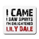 LILY DALE NEW YORK Mousepad