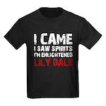 LILY DALE NEW YORK Kids Dark T-Shirt