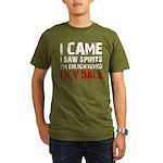 LILY DALE NEW YORK Organic Men's T-Shirt (dark)