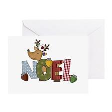 Reindeer Noel Greeting Card
