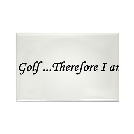 Golf gift Rectangle Magnet