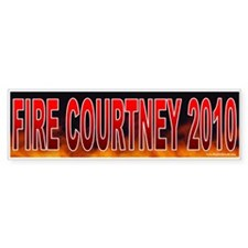 Fire Joe Courtney (sticker)