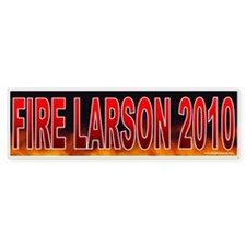 Fire John Larson (sticker)