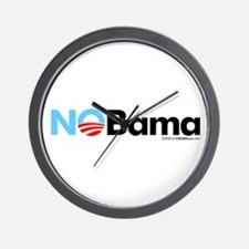 No Bama Wall Clock